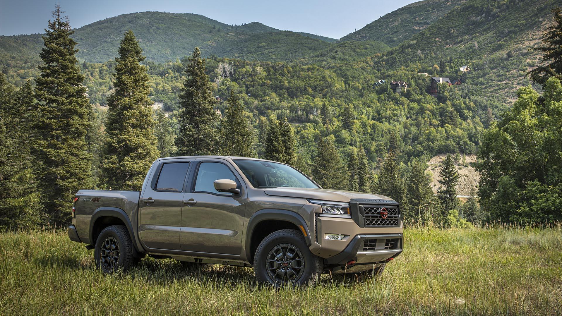 """Nissan Frontier 2022: El """"Nissan Navara americano"""" que da algunas pistas sobre el próximo Navara europeo"""