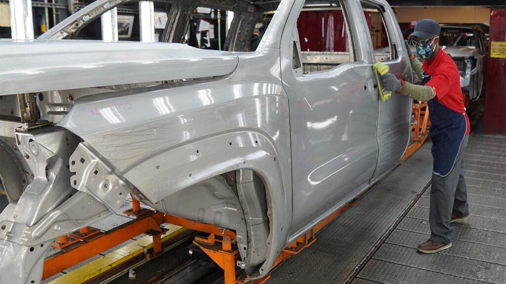 Nissan Frontier, el Nissan Navara americano