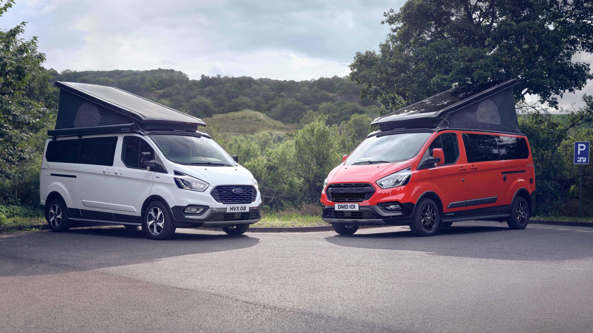 El Ford Transit Custom Nugget estrena las nuevas versiones Active y Trail