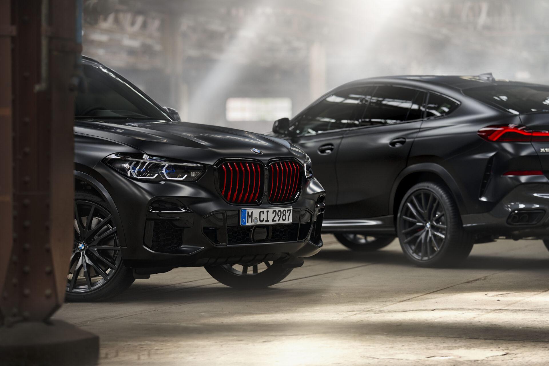BMW anuncia los precios para España de la nueva serie especial Black Vermilion del BMW X5 y X6