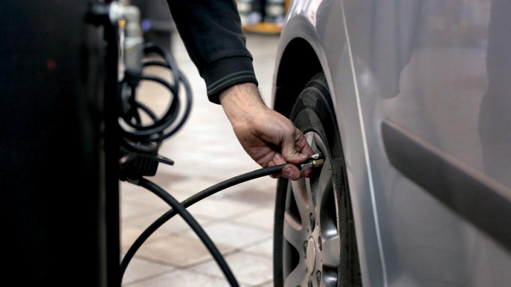 Revisión presión neumáticos