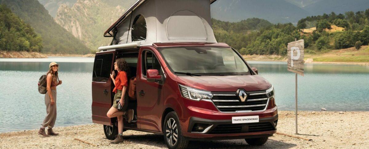 Renault Trafic SpaceNomad 2021: una camper para escapar de la gran ciudad