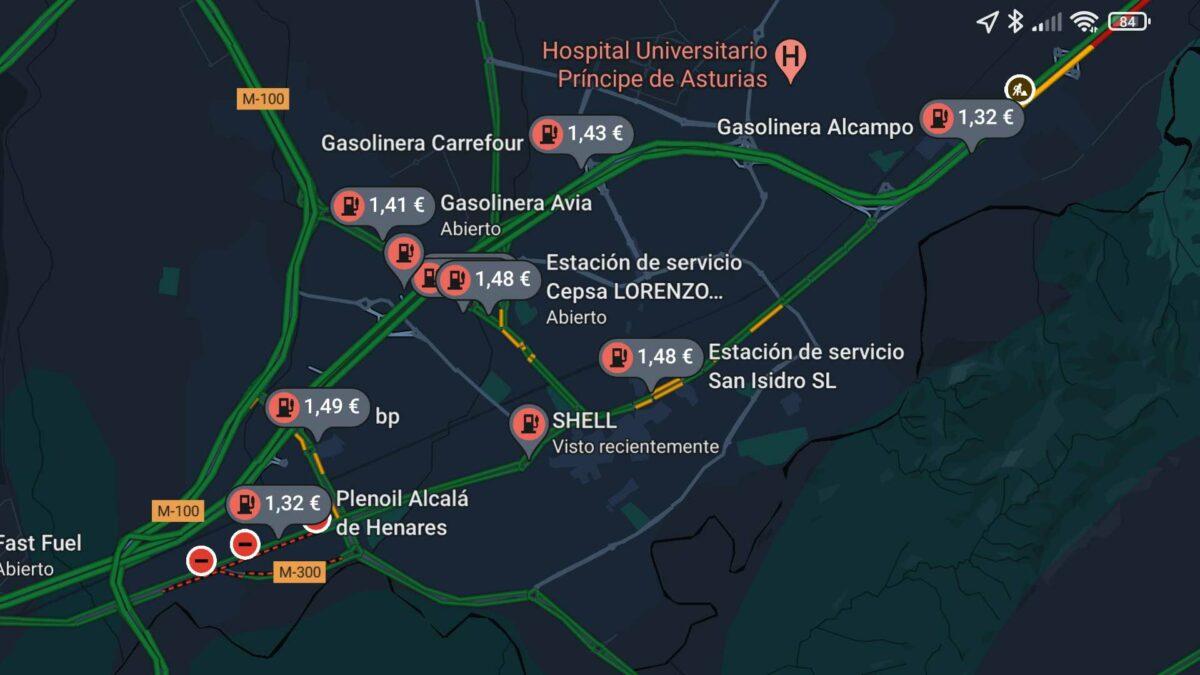 precios-gasolineras-google-maps