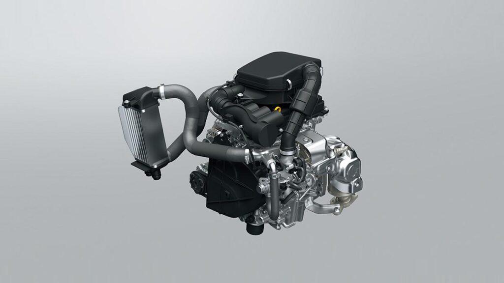 Suzuki Jimny kei car motor
