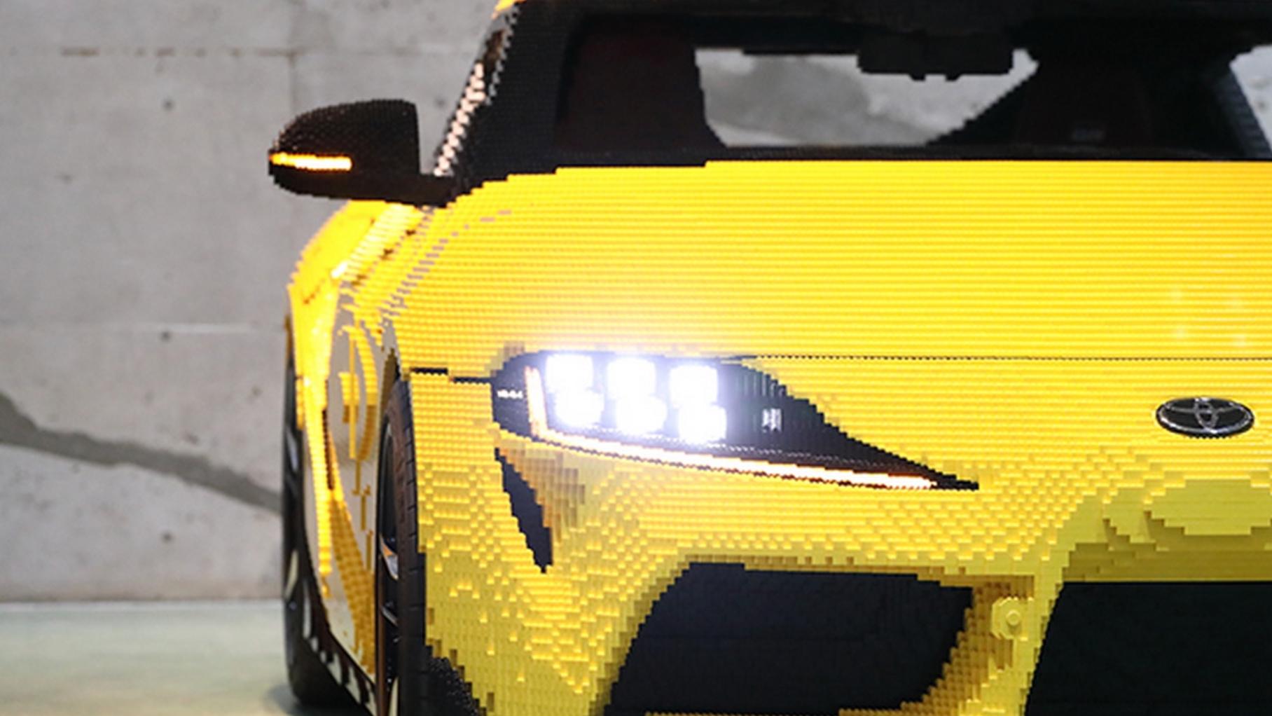 Toyota GR Supra LEGO