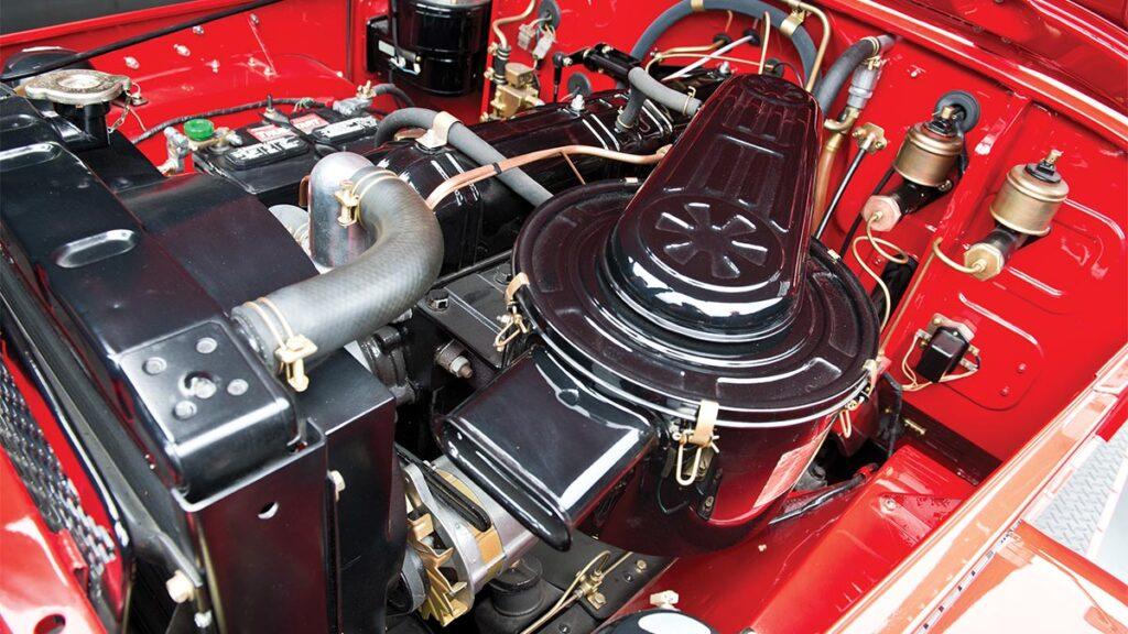 Toyota Land Cruiser 40 motor