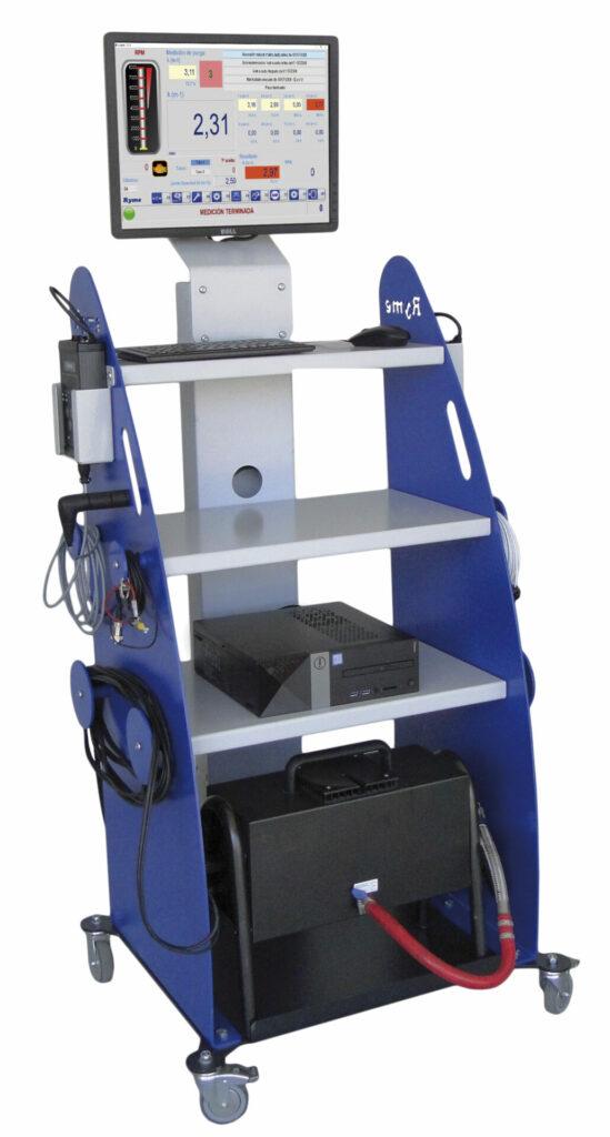 analizador de humos opacimetro 500AH 2019 V2