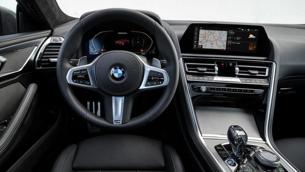 BMW Serie 8 diesel interior