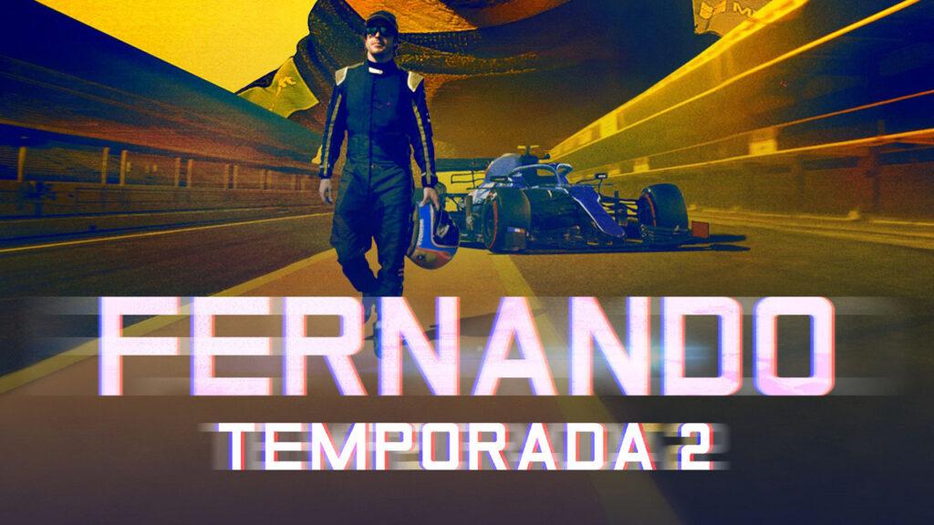 Fernando Alonso celebra la renovación con Alpine con el estreno de la segunda temporada de su documental en Amazon Prime Video