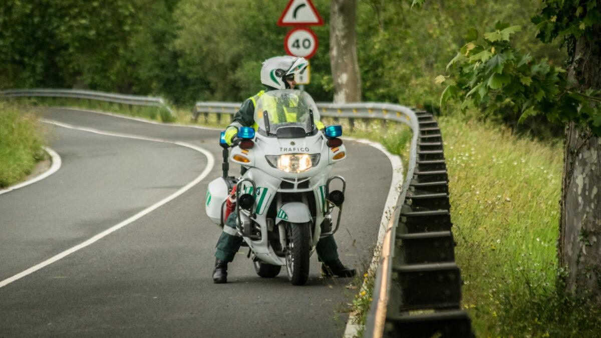Guardia Civil en Moto