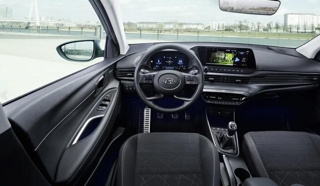 Hyundai Bayon interior