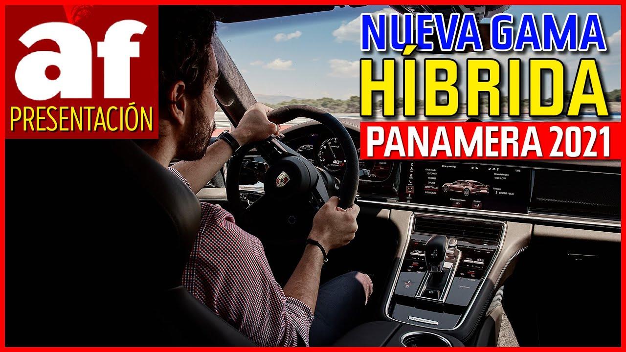 Porsche Panamera 2021: prueba de la nueva gama híbrida