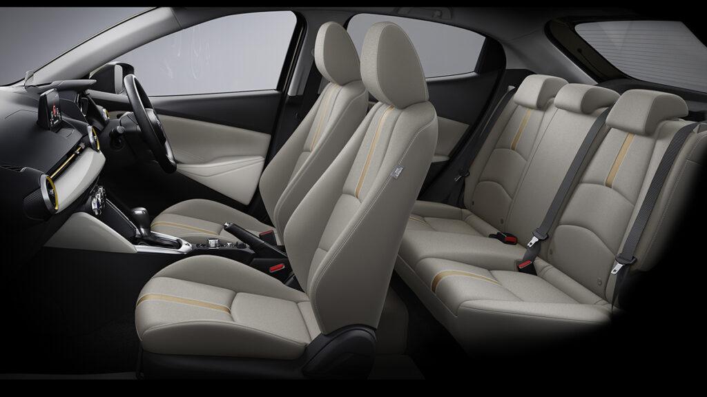 Mazda 2 2021 interior