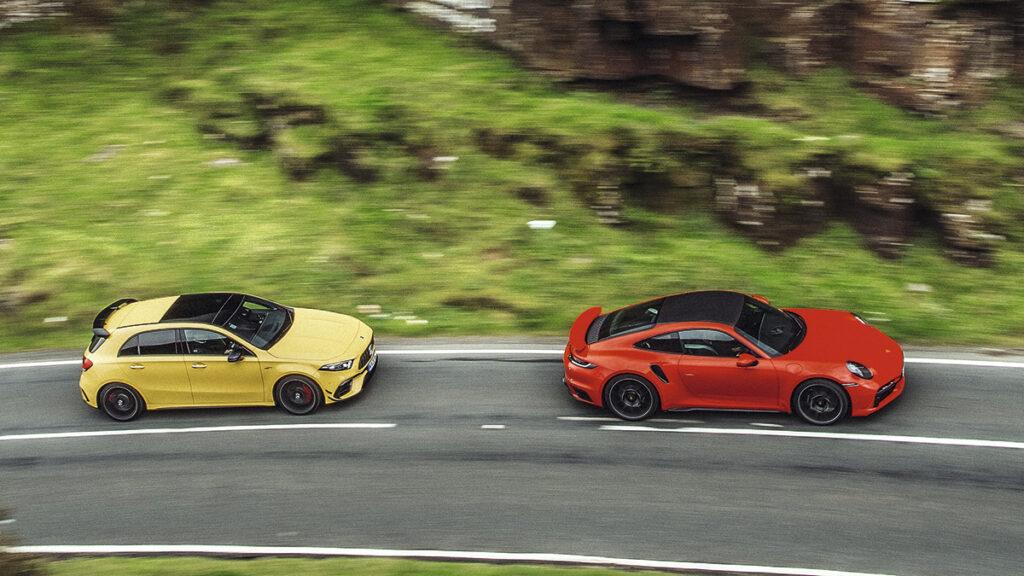 Mercedes vs. Porsche