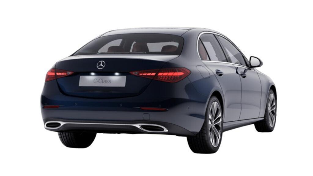 Mercedes-Benz Clase C 2021 trasera