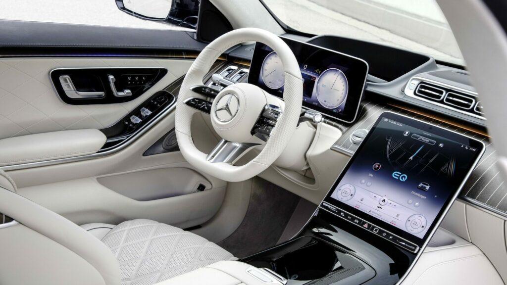 Mercedes S 580 e interior