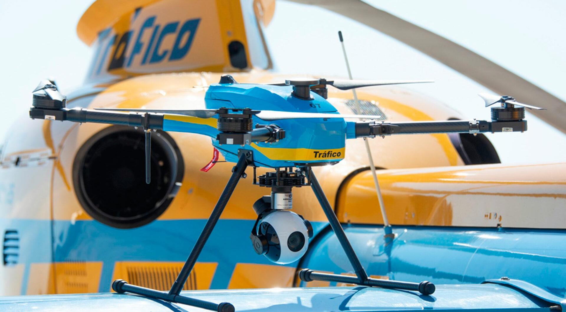 Tráfico publica el mapa de vuelo que seguirán sus 39 drones de vigilancia durante todo el mes de agosto