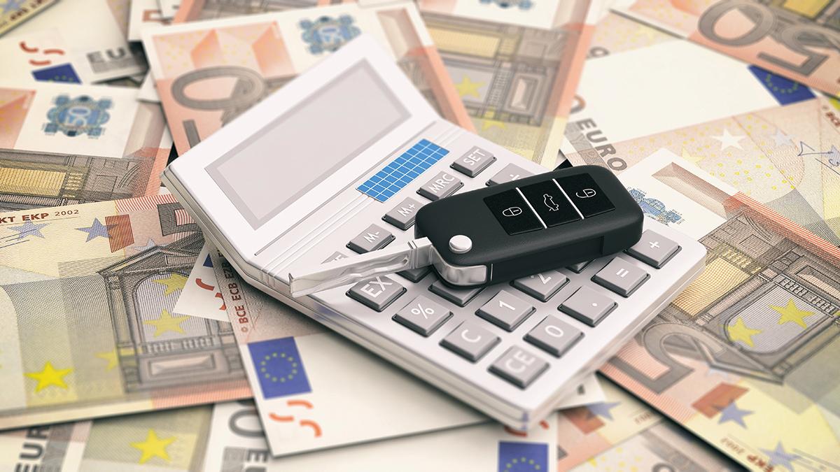 Pagar dinero impuestos coche