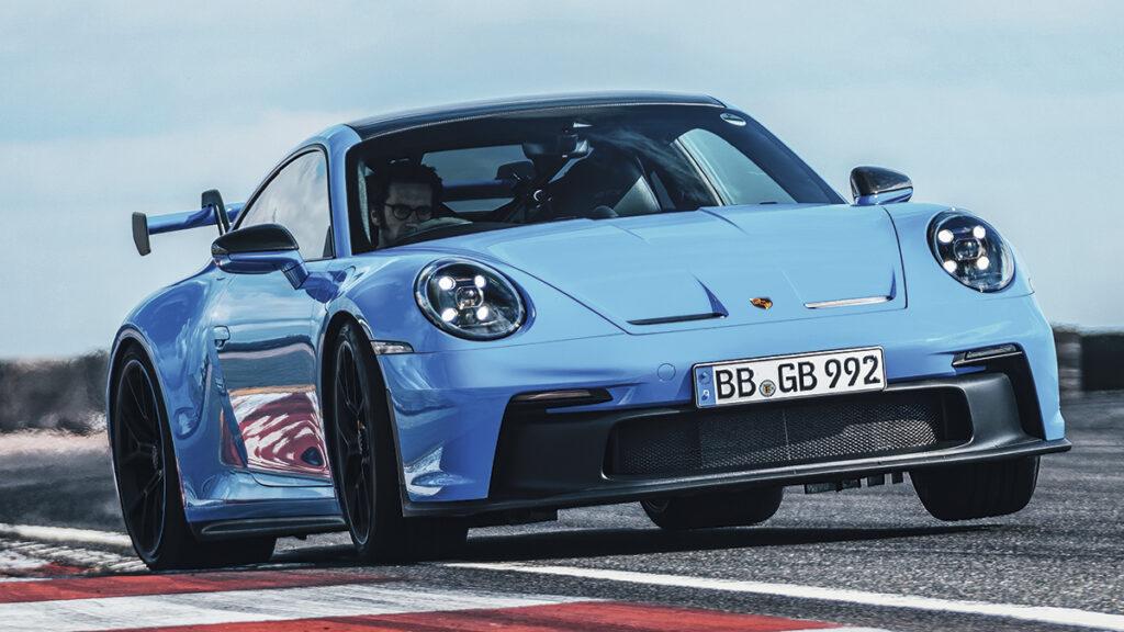 Porsche 911 GT3 992 circuito