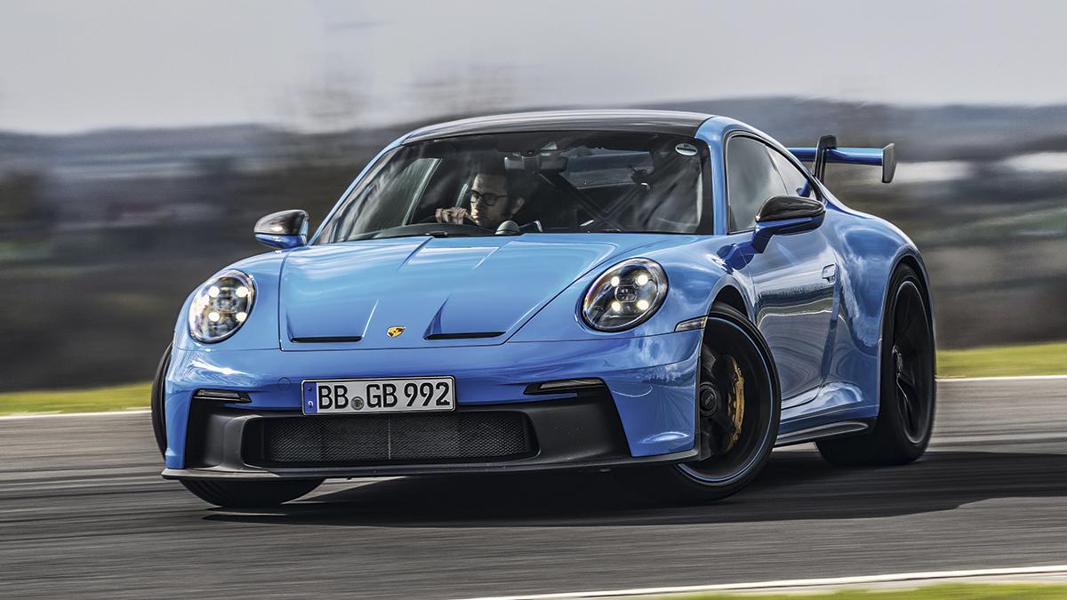 Prueba Porsche 911 GT3 2021: palabras mayores