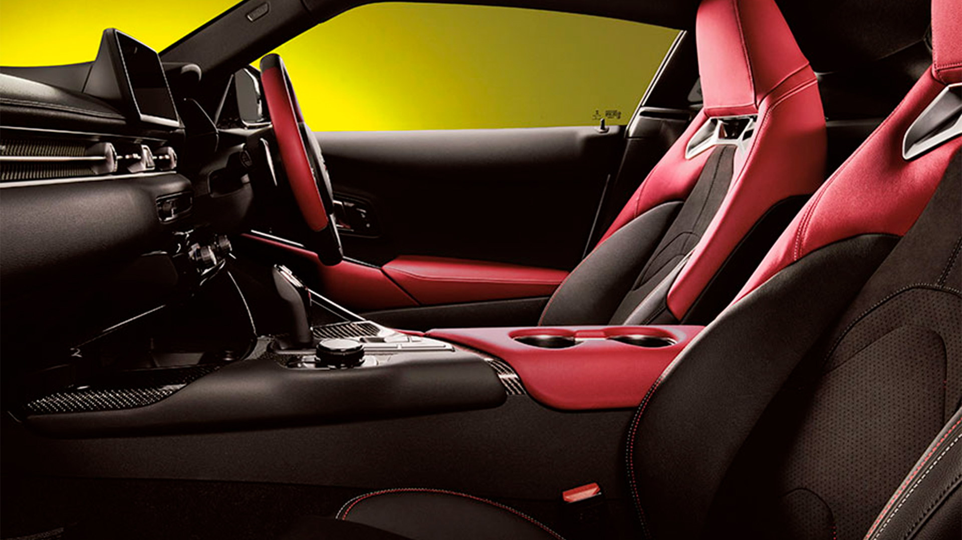 Toyota GR Supra 35 Anniversary interior