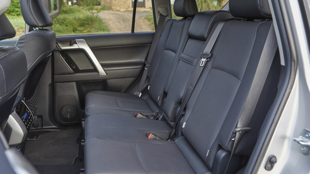 Toyota Land Cruiser 2021 interior