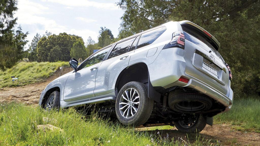 Toyota Land Cruiser rueda aire