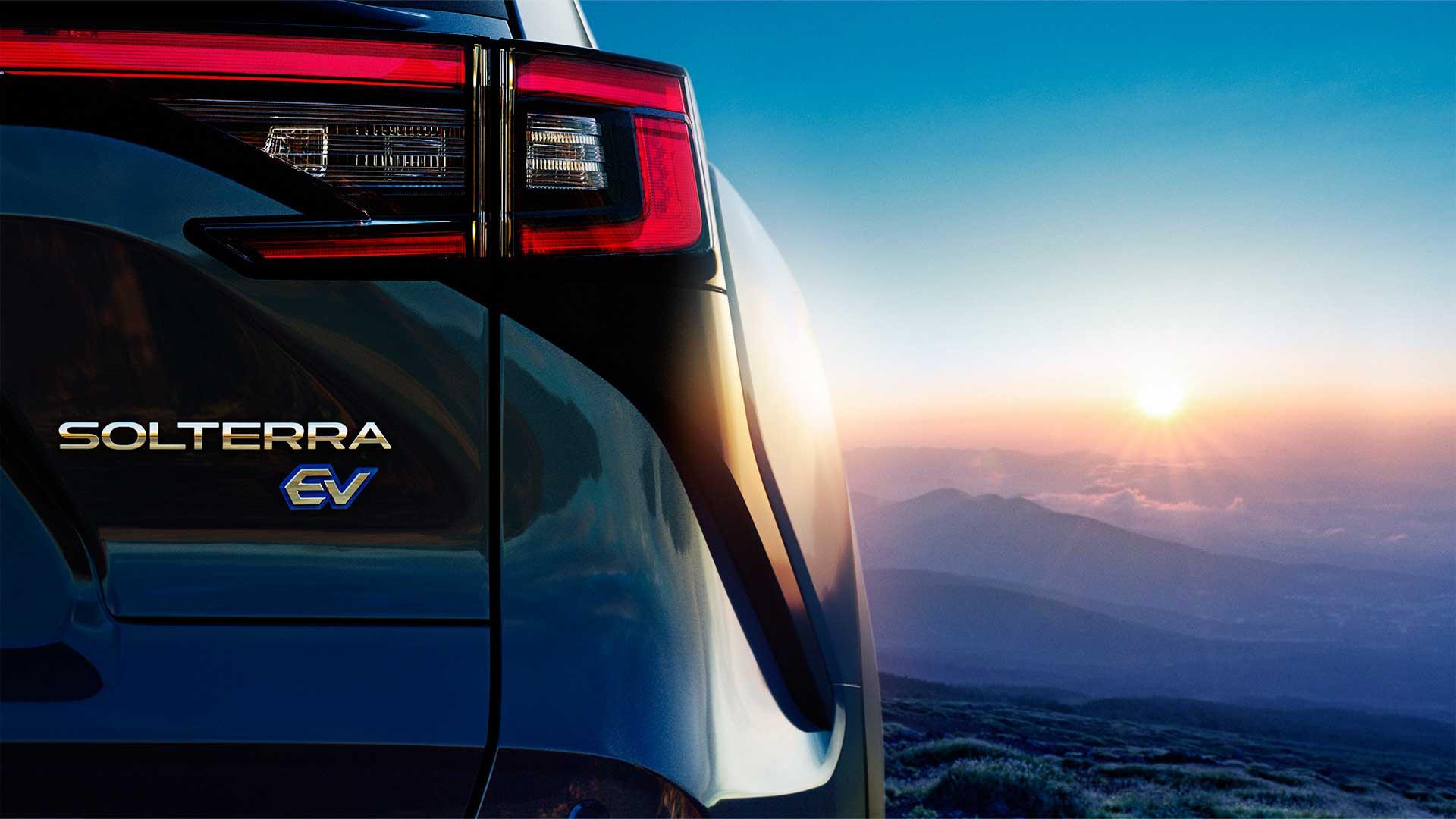 Subaru Solterra 2022: primeras imágenes del primer SUV eléctrico de la marca nipona