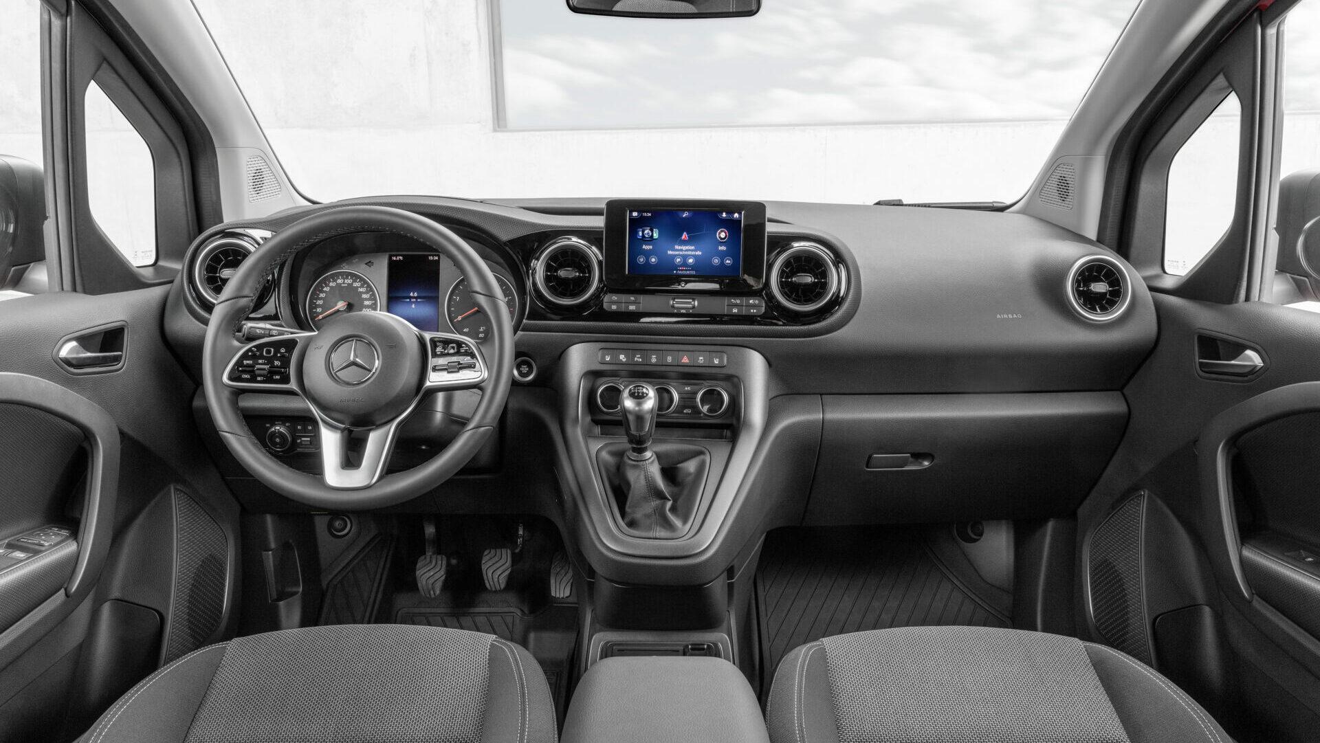 Mercedes-Benz Citan Tourer 2022 interior