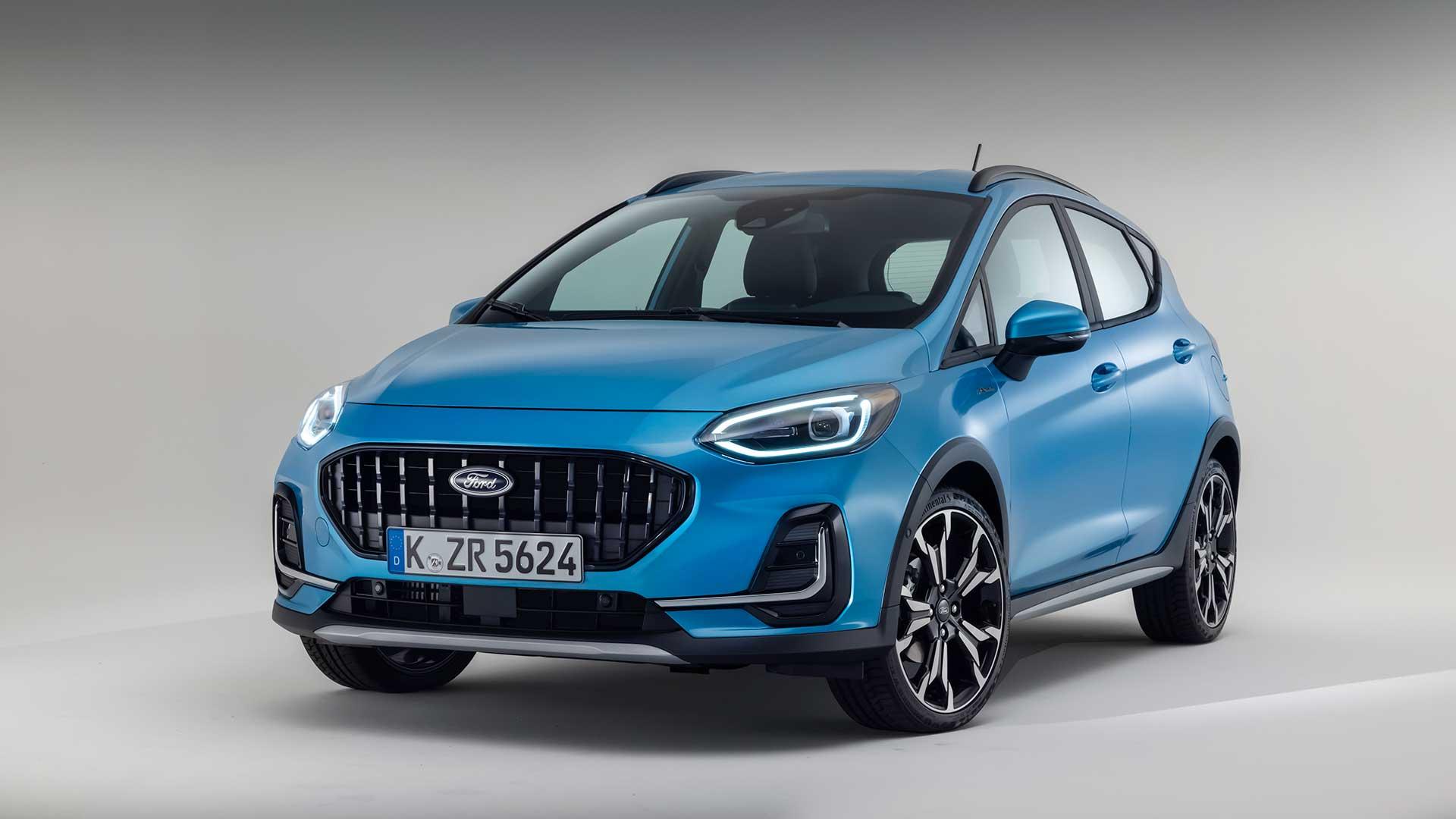 Nuevo Ford Fiesta 2022 restyling: más conectado y con mecánicas electrificadas