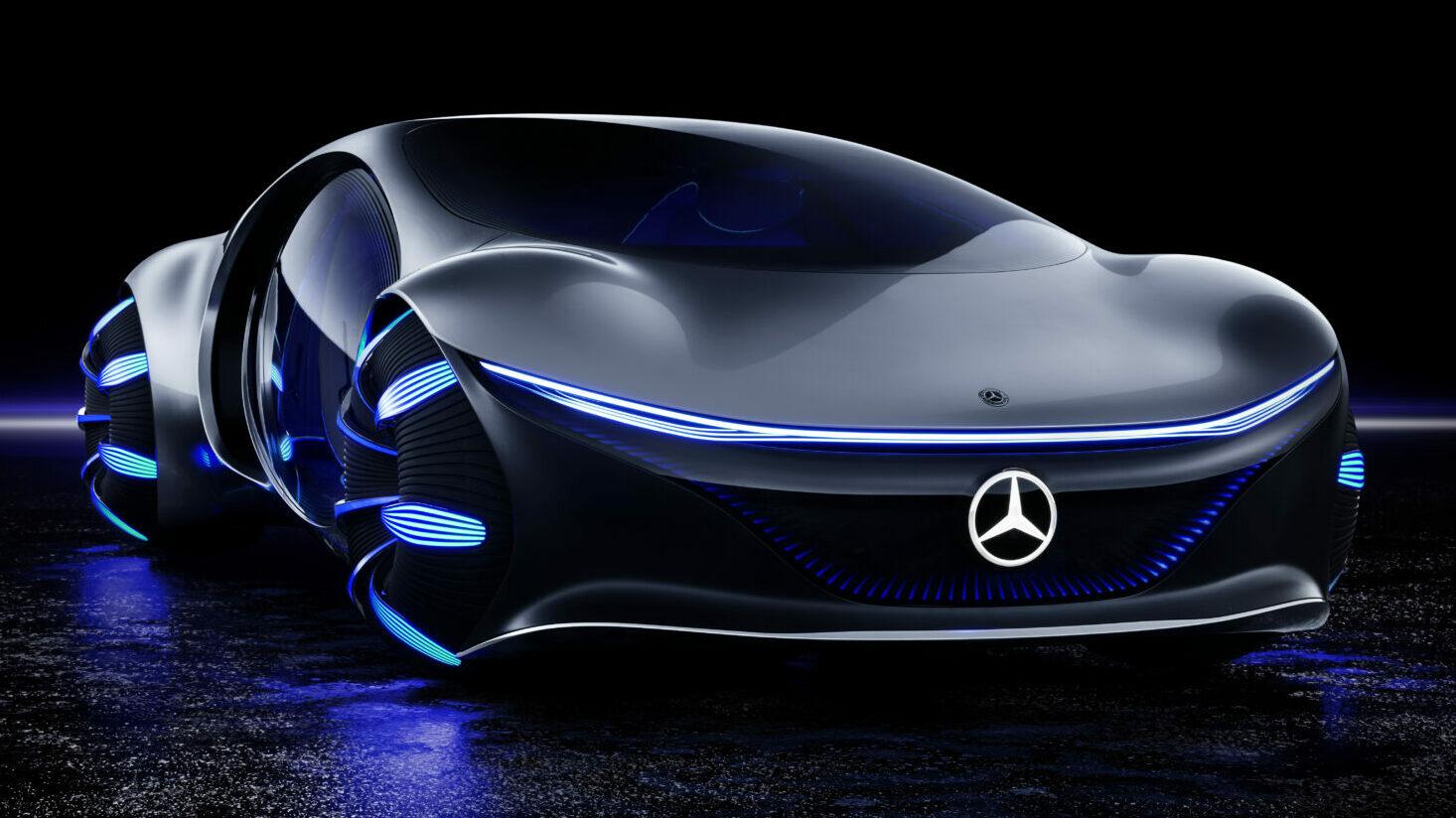 Mercedes-Benz Vision AVTR frontal