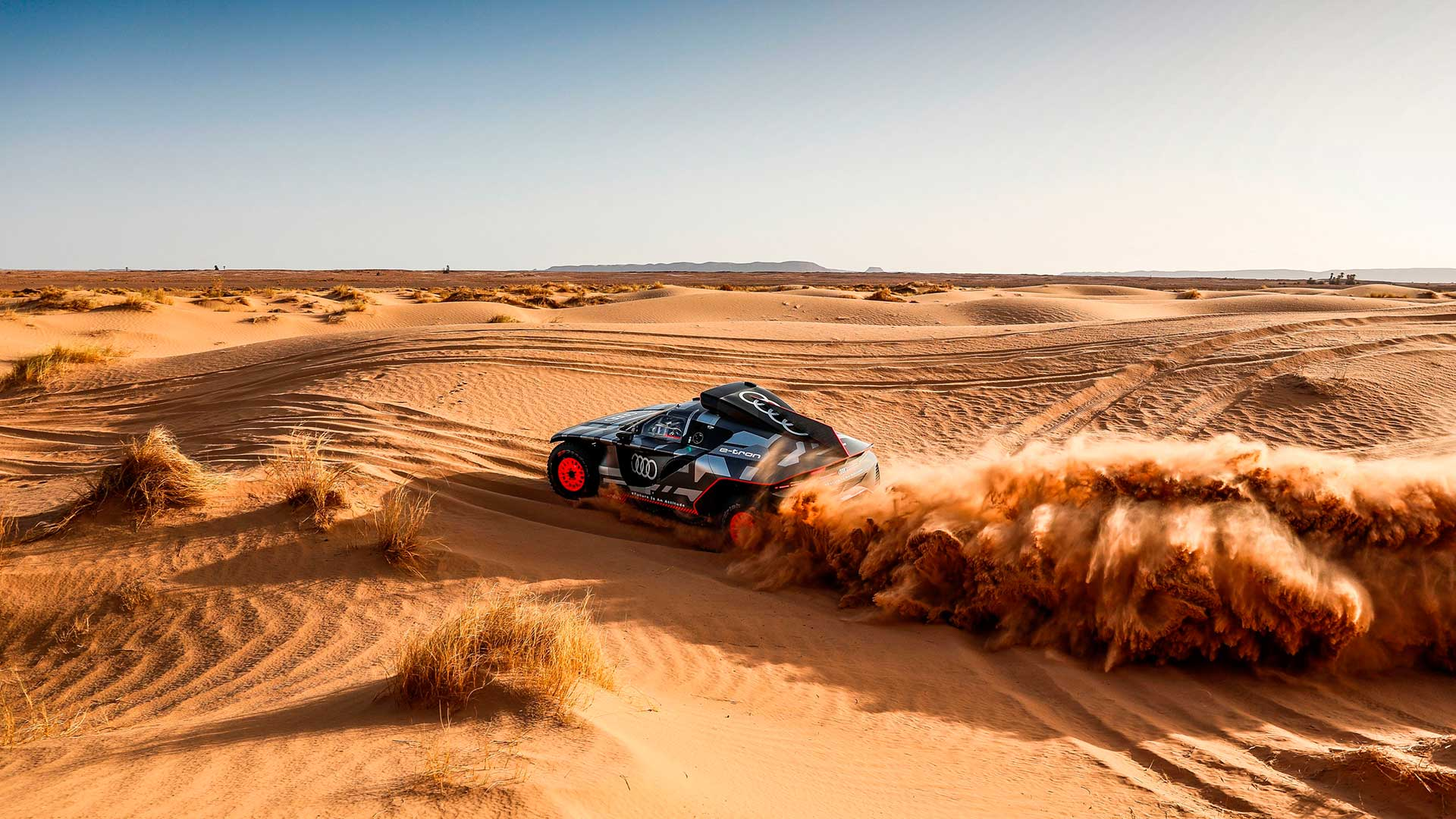 100 días para el Dakar: Audi continúa su preparación para el rally más duro del mundo