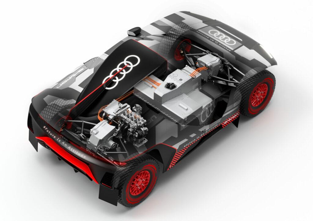 Radiografía del Audi RS Q e-tron del Dakar