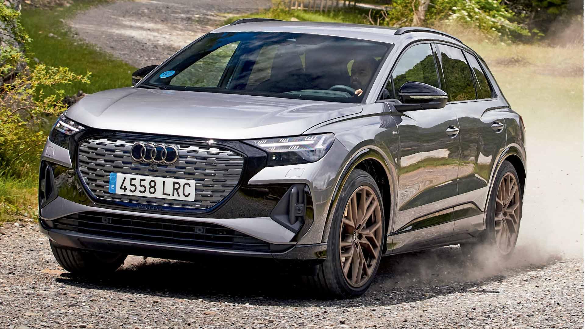 Prueba Audi Q4 e-tron 50 2021, ¿mucho mejor que un Volkswagen ID.4?
