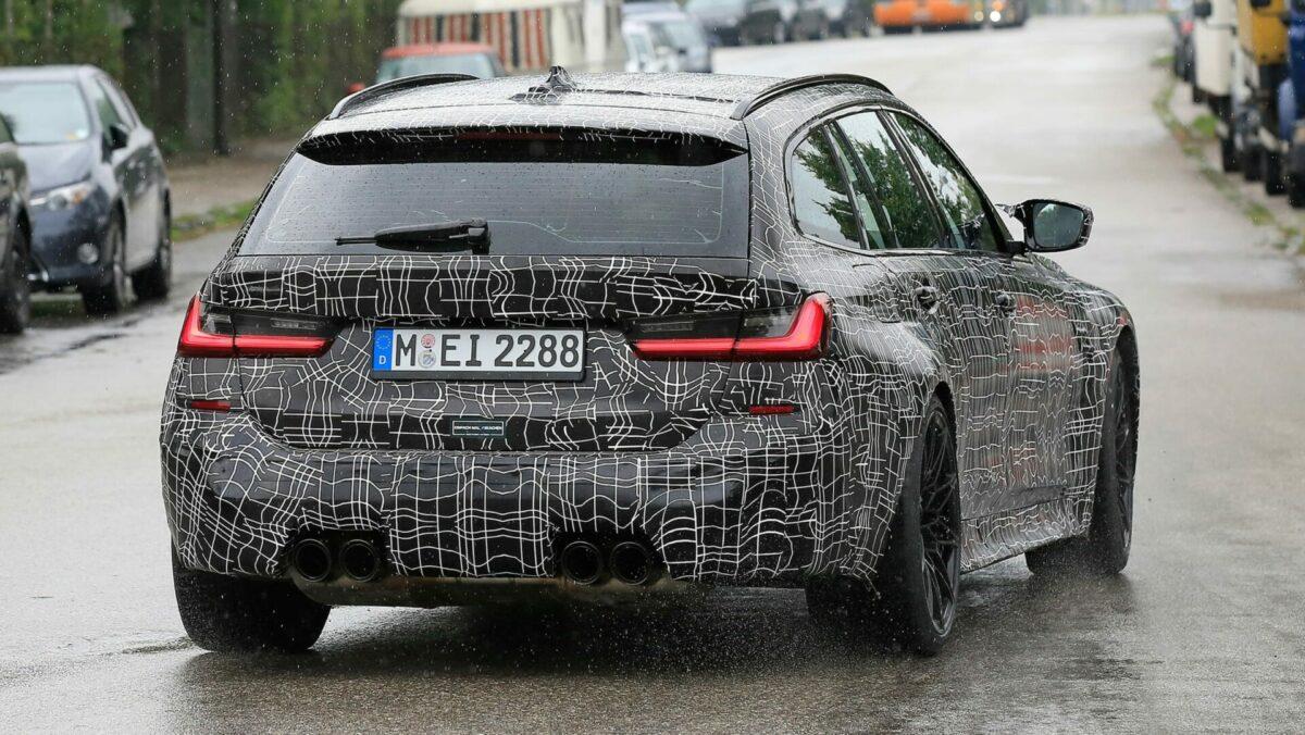 Nuevo BMW M3 Touring 2022: primeras imágenes oficiales antes de su presentación