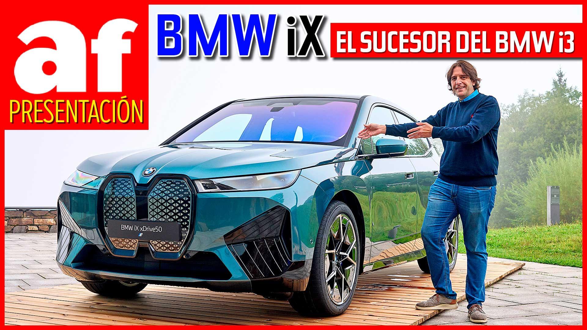 Nuevo BMW iX 2021, el sucesor ideológico del BMW i3 de 2013