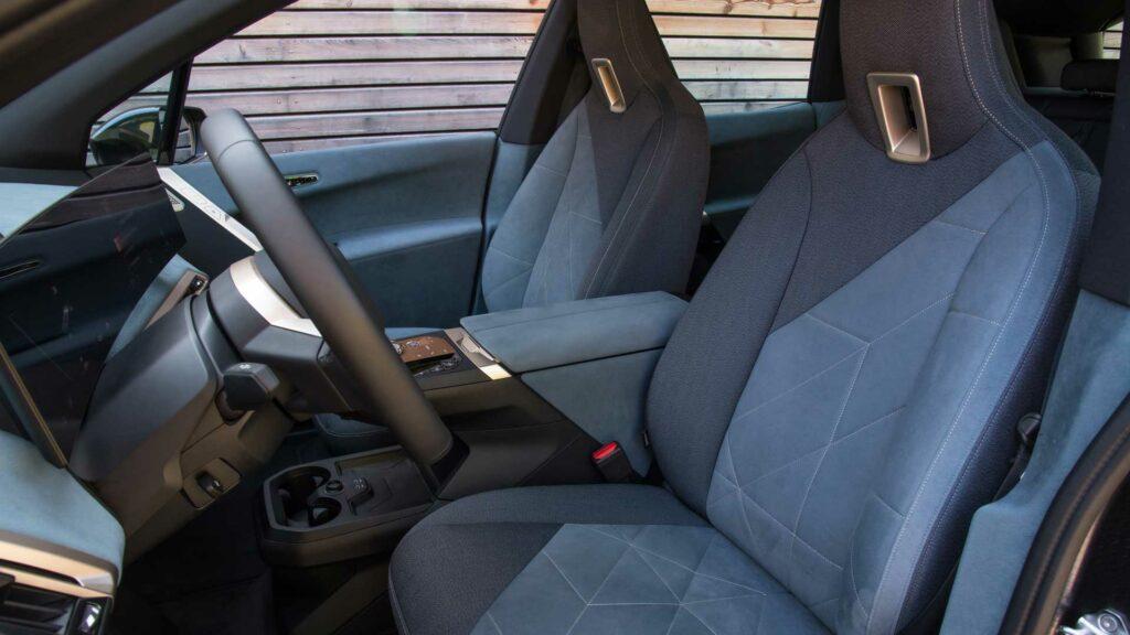 BMW iX Loft interior