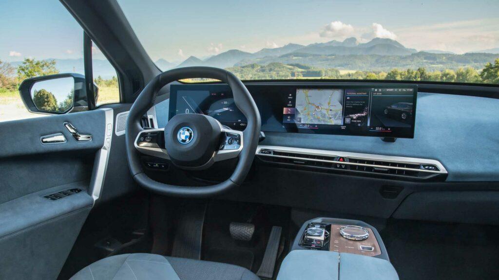BMW iX salpicadero Loft