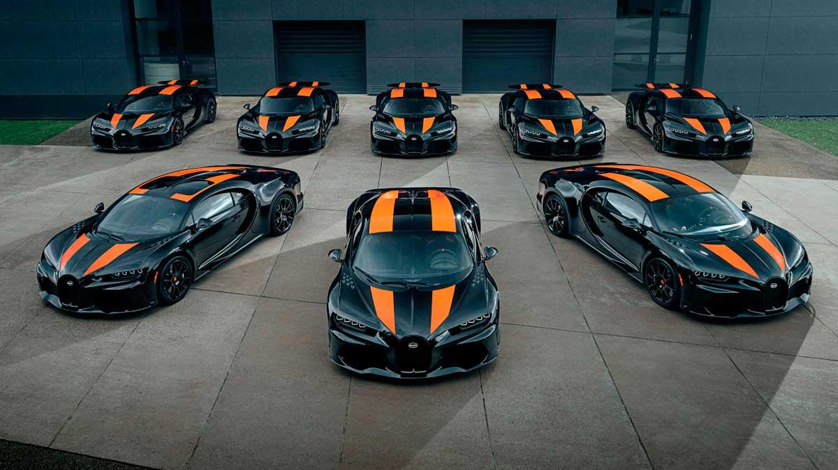 Comienzan las entregas del Bugatti Chiron Super 300+ 2021, el hiperdeportivo de 3,5 millones de euros