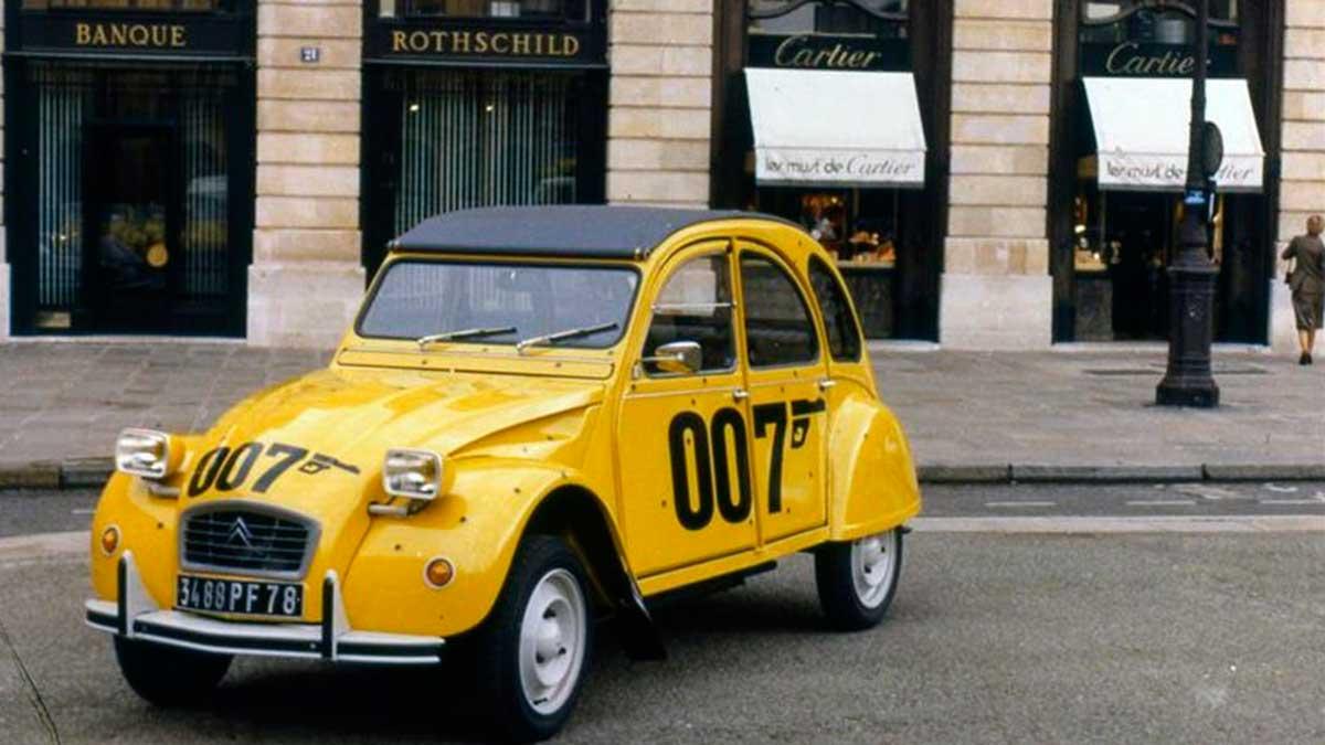 Citroën 2CV 007: 40 años de una de sus ediciones más especiales