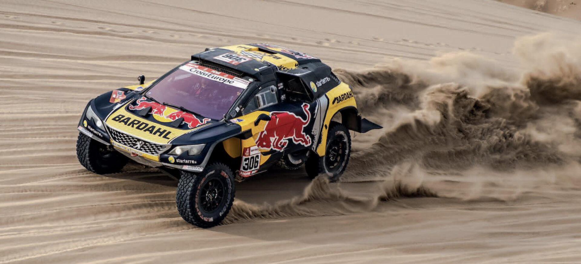 A la venta el Peugeot 3008 con el que Sébastien Loeb corrió el Dakar de 2019