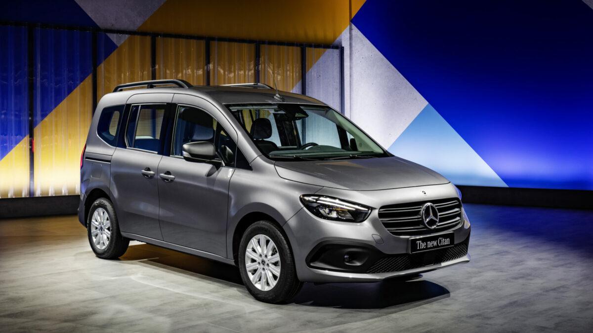 Arranca la comercialización del nuevo Mercedes-Benz Citan Tourer en España