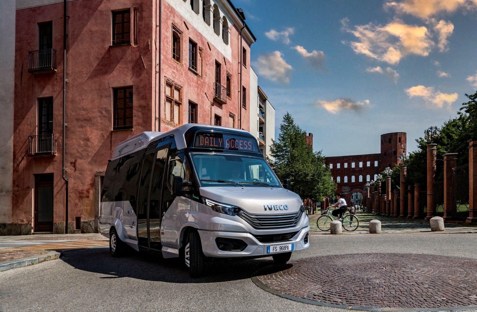Daily Access CNG: así es el nuevo minibús sostenible de IVECO