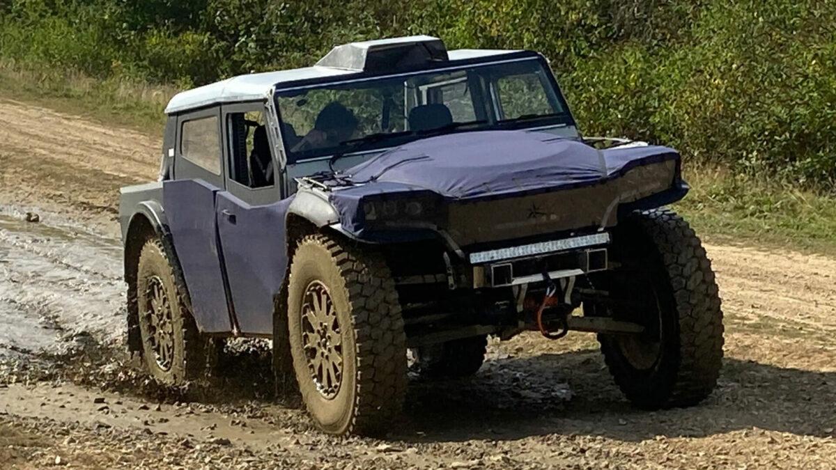 Nuevo Fering Pioneer: un todoterreno electrificado de origen británico con una autonomía de hasta 7.000 km