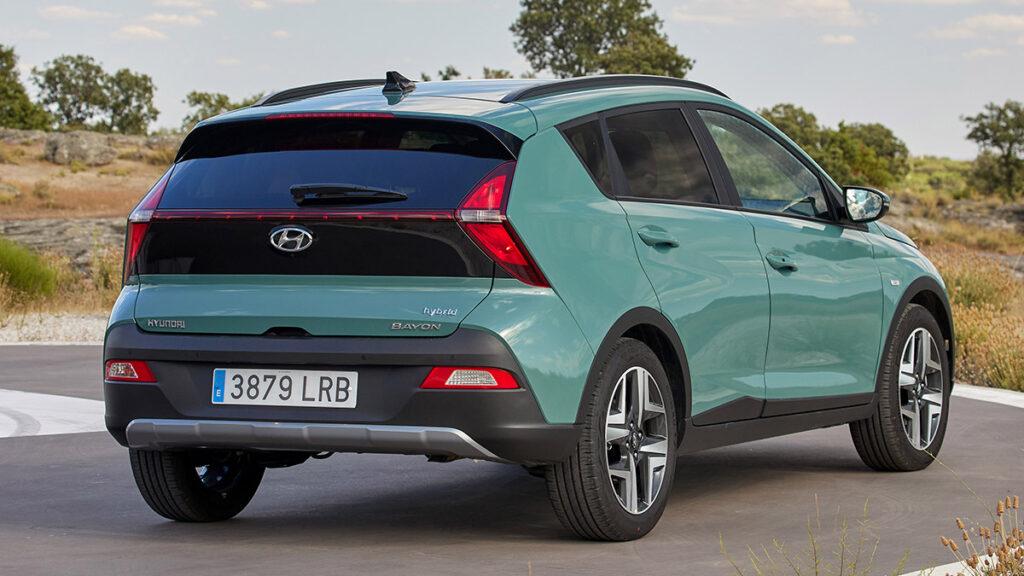 Hyundai Bayon 2021 trasera