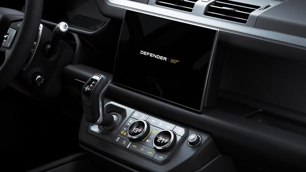 Land Rover Defender V8 Bond Edition interior 1