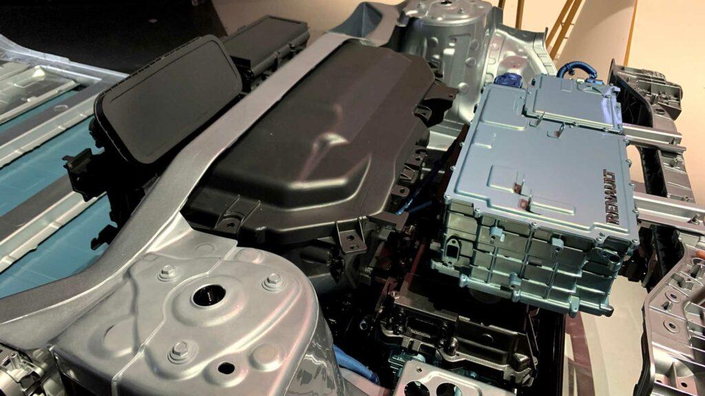 Megane Electric Vano Motor