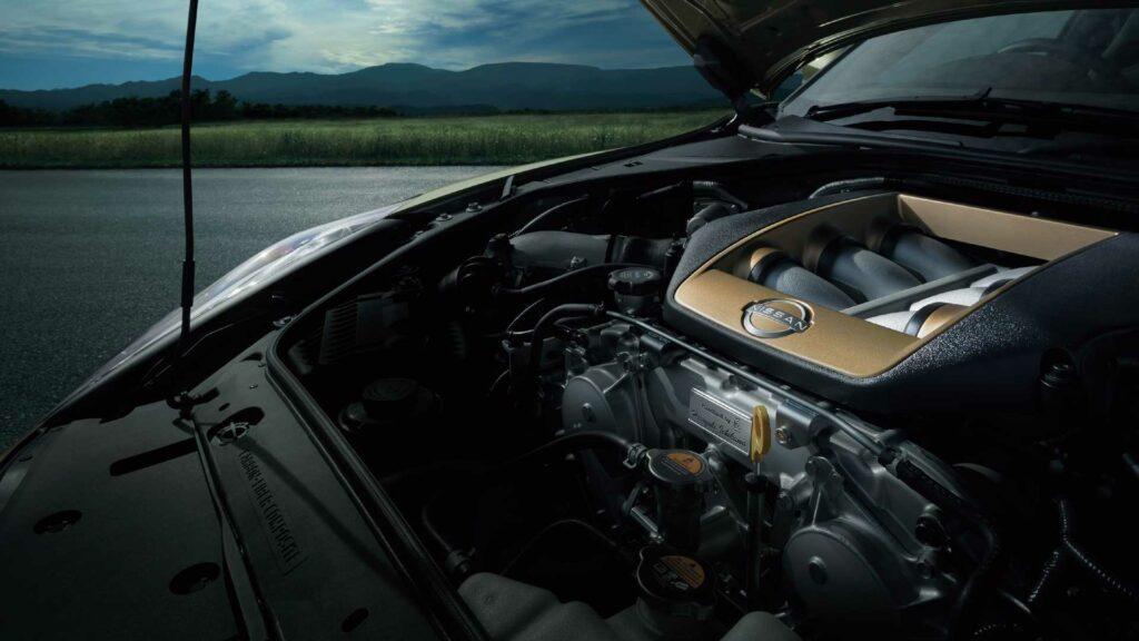 El Nissan GT-R 2022 motor