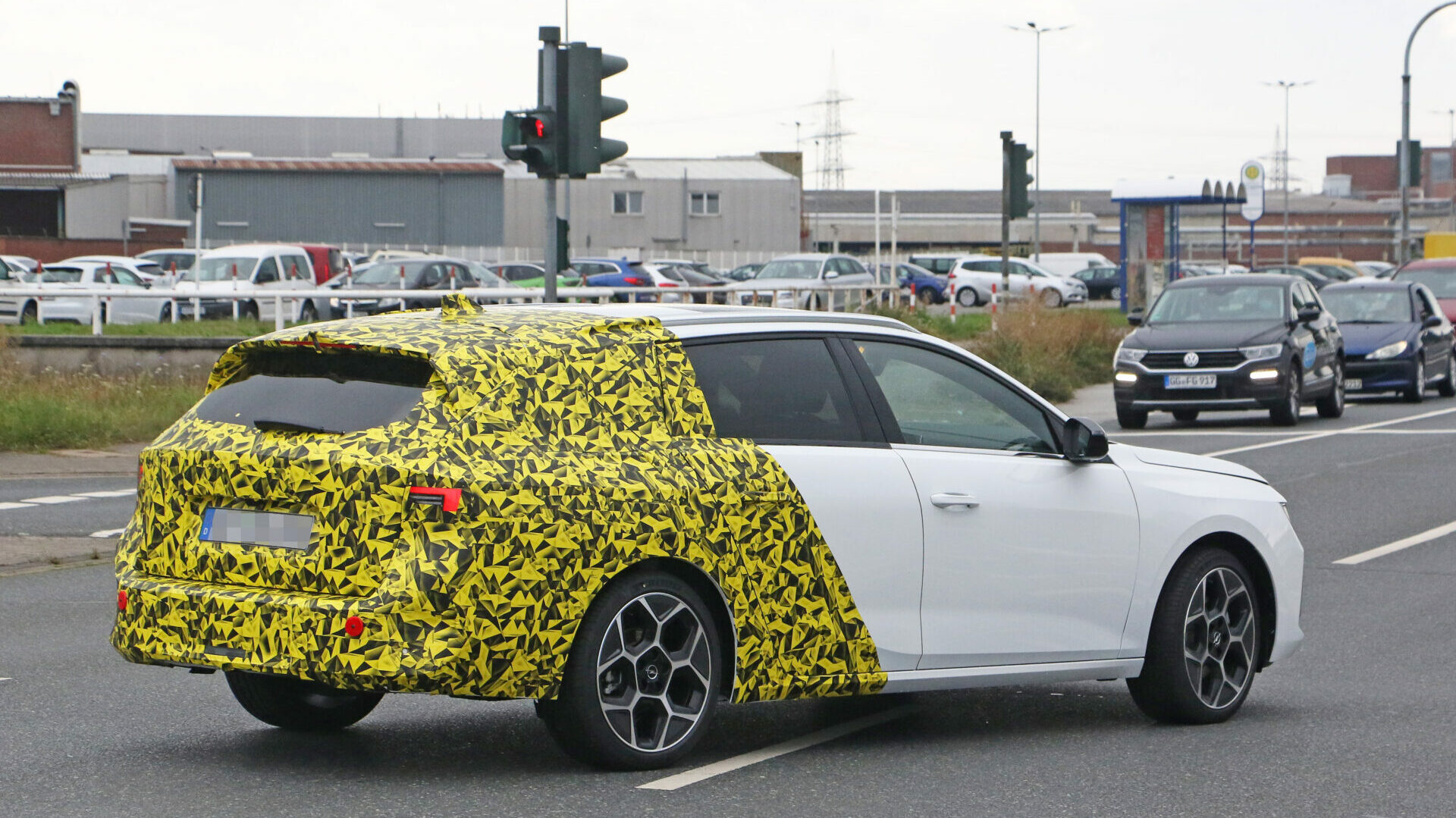 Opel Astra ST 12 edited
