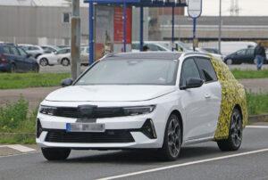 Fotos espía del Opel Astra Sports Tourer 2022